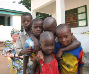 Children in West Africa. Photograph courtesy of Care.