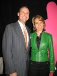 Gabby Giffords with Planned Parenthood Arizona's president and CEO, Bryan Howard, at a 2010 event in Tucson