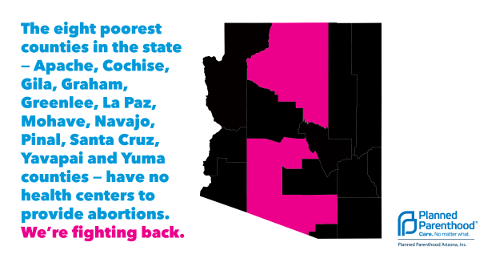 Reproductive Health-Care Providers Challenge Arizona Laws